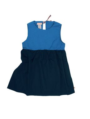Tiny Cottons Color Block Dress Dark Navy