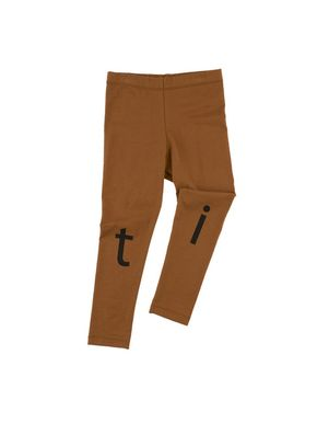 TinyCottons Altiplano t-i-n-y Logo Pant Brown