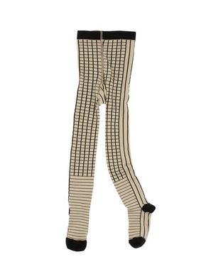 TinyCottons Altiplano Lines & Grid Tights