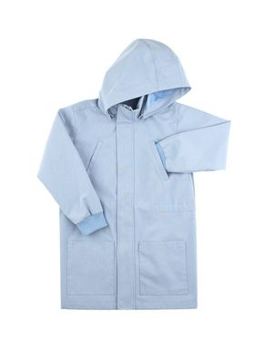 tinycottons SS18 Waterproof Solid Jacket Light Cerulean Blue