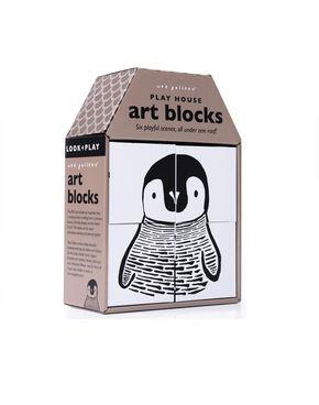 Wee Gallery Play House Art Blocks - PLAY