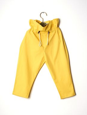 Wolf&Rita SS18 Trousers Henrique Yellow