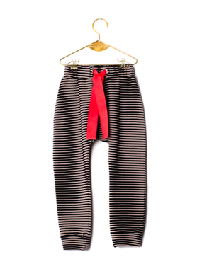 Wolf&Rita SS18 Trousers Ricardo Black Stripes