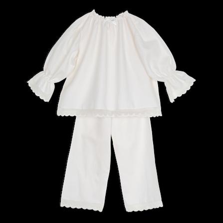 Amiki AW18 Grace Pyjama Milk