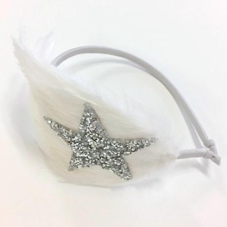 Atsuyo et Akiko AW17 Etoile Headband Silver
