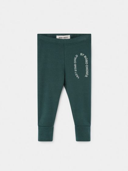 Bobo Choses AW19 Baby Leggings Starchild Patch