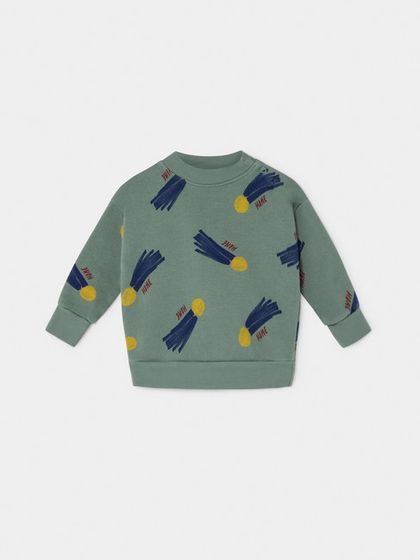 Bobo Choses AW19 Baby All Over a Star Called Home Sweatshirt