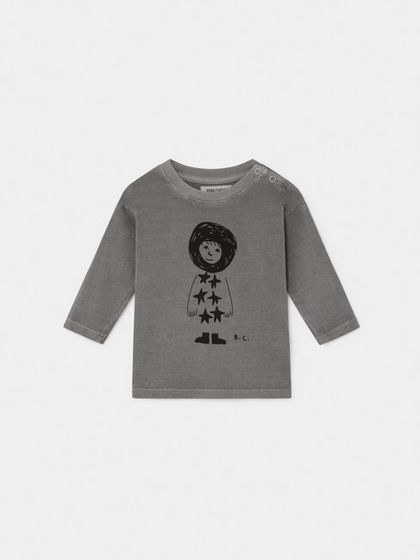 Bobo Choses AW19 Baby Long Sleeve T-shirt Starchild