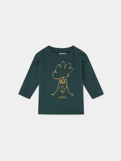 Bobo Choses AW19 Baby Long Sleeve T-shirt Volcano