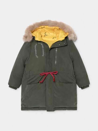 Bobo Choses AW19  All Over Stars Hooded Anorak