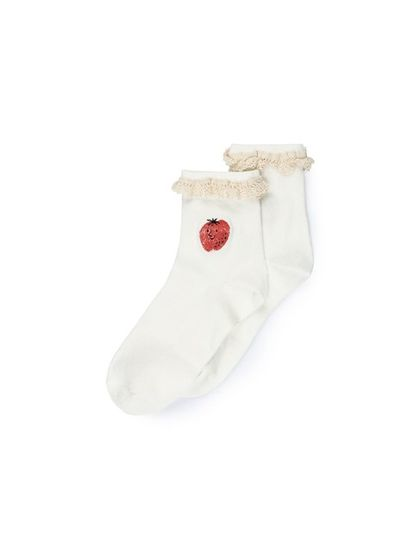 Bobo Choses SS19 Strawberry Short Socks