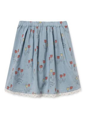 Bobo Choses SS19 Poppy Prairie Flared Skirt