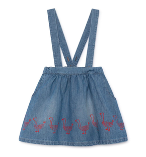 Bobo Choses SS19 Geese Braces Skirt