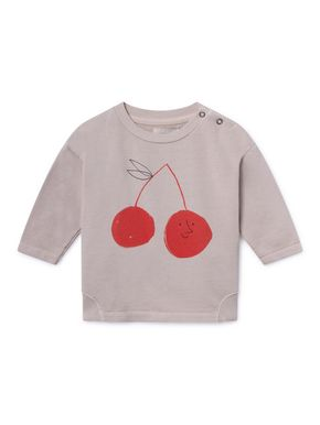 Bobo Choses SS19 Cherry Round Neck Sweatshirt