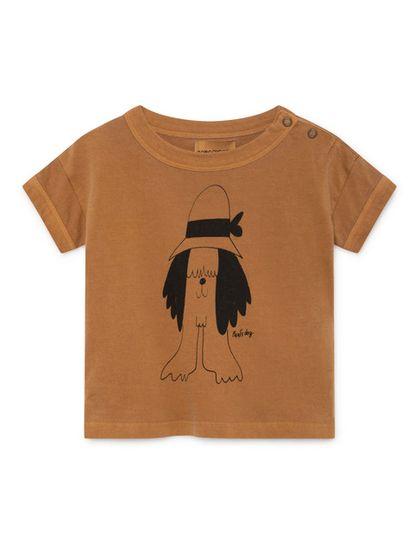 Bobo Choses SS19 Pauls Short Sleeve T-Shirt for babies