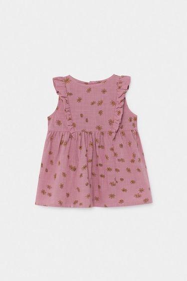 Bobo Choses SS20 Baby All Over Daisy Ruffle Dress