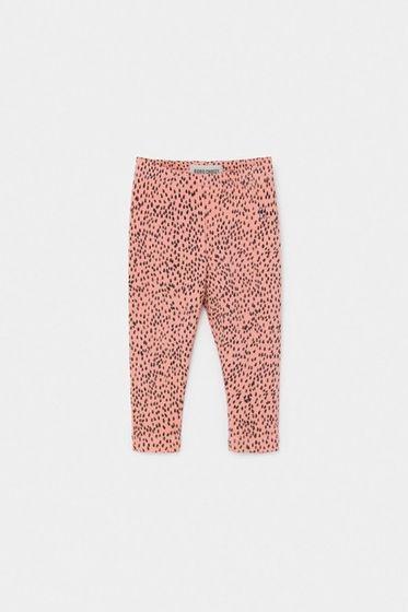 Bobo Choses SS20 All Over Leopard Pink Leggins