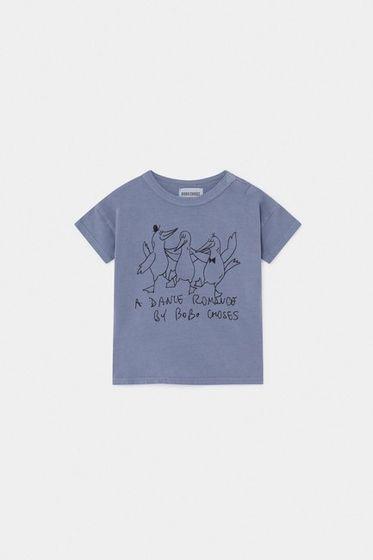 Bobo Choses SS20 Dancing Birds Baby T-Shirt