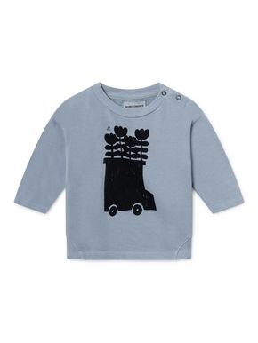 Bobo Choses SS19 Flowers Bus Round Neck Sweatshirt