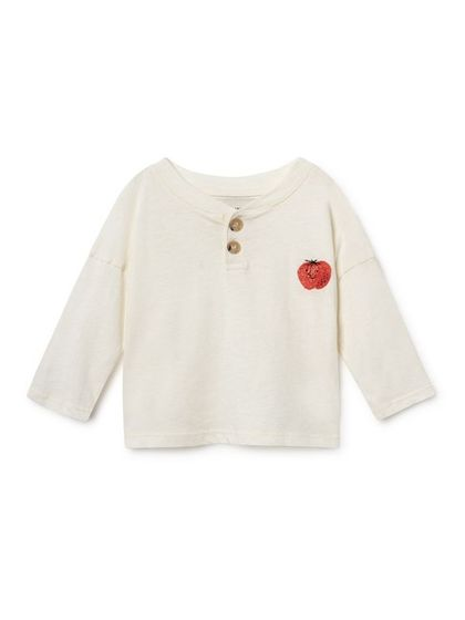 Bobo Choses SS19 Strawberry Buttons T-Shirt for babies