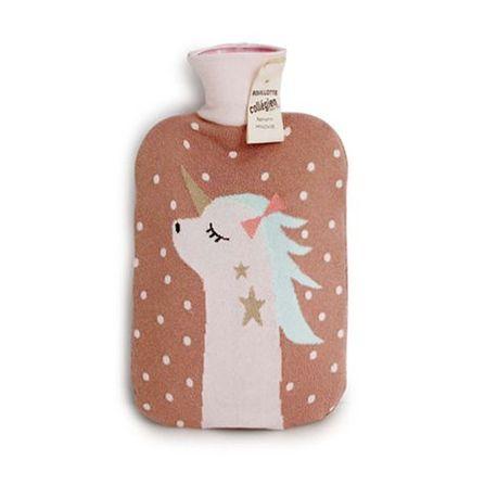 Collegien AW19 Hot Water Bottle Unicorne