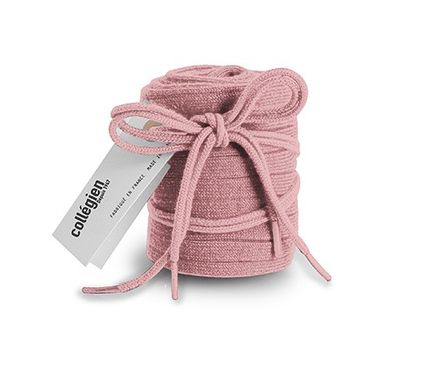 Collegién Knee Socks and Laces Vieux Rose Powder Pink