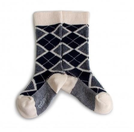 Collegién Socks Heritage 70 Blue and Cream