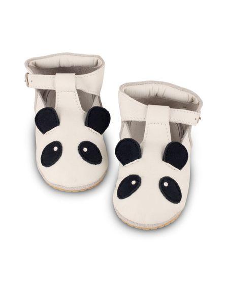 Donsje Panda Leather Off White