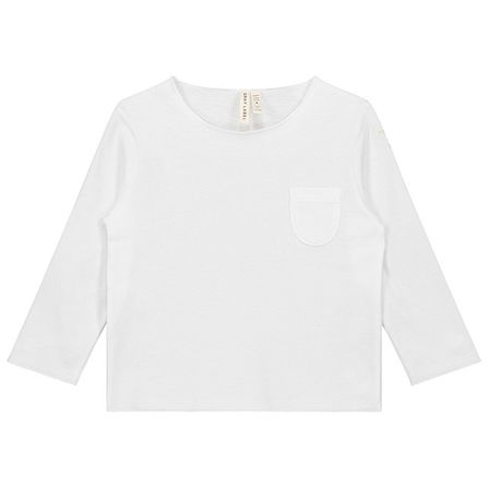 Gray Label AW17 Pocket L/S Tee White