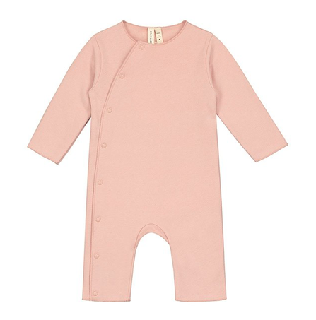 Gray Label AW18 Baby Suit with Snaps Pink