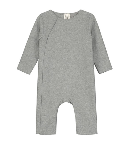 Gray Label SS19 Baby Suit with Snaps Grey
