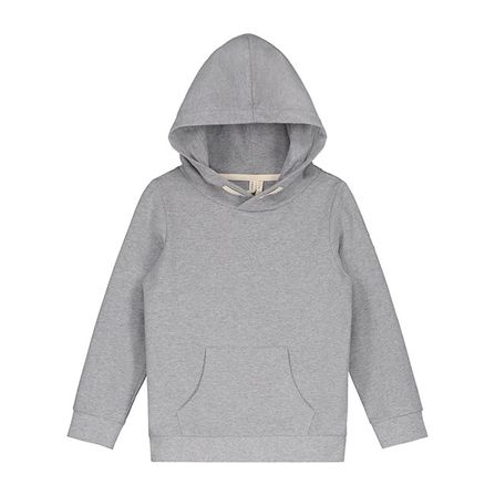 Gray Label AW18 Classic Hooded Sweater Grey Melange