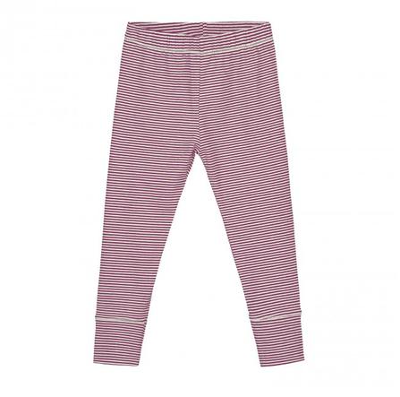 Gray Label AW18 Leggings Plum/Cream Stripes