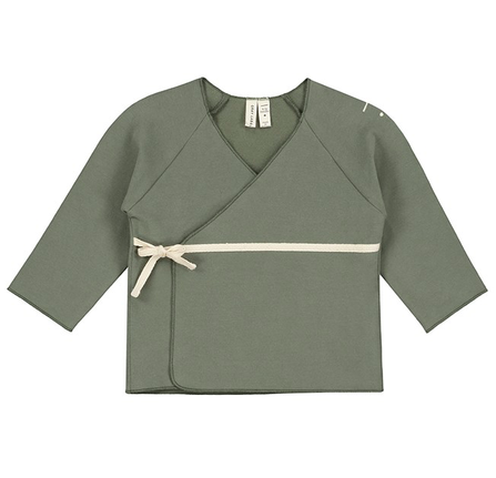 Gray Label AW19 Baby Cross Over Cardigan Moss