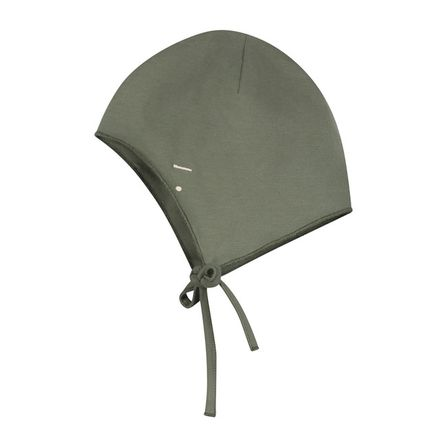 Gray Label AW19 Baby Hat with Strings Moss