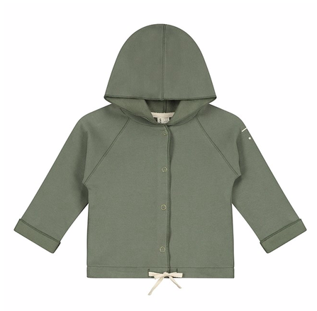 Gray Label AW19 Baby Baby Hooded Cardigan Moss