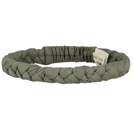 Gray Label AW19 Braid Headband  Moss