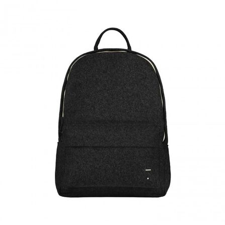 Gray Label AW19 Felt Backpack Nearly Black