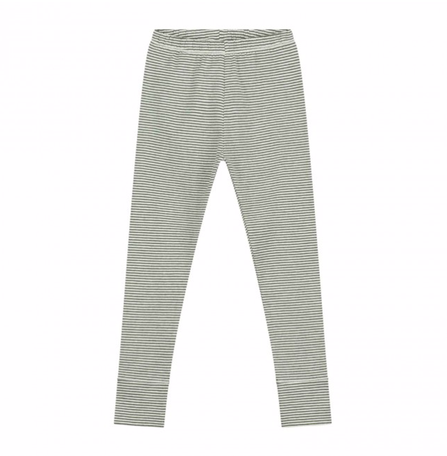 Gray Label AW19 Leggings Moss/Cream Stripes