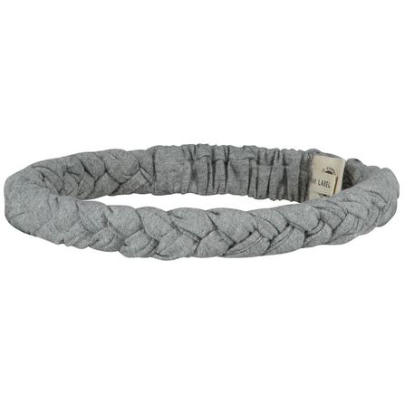 Gray Label AW19 Braid Headband Grey Melange