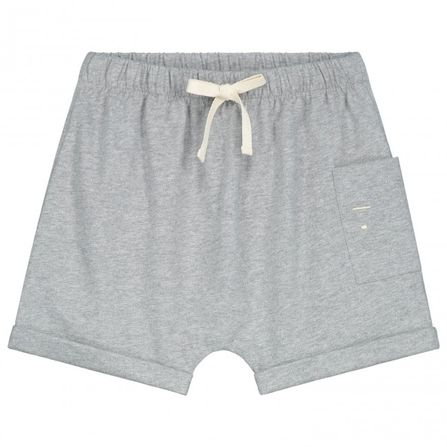 Gray Label SS19 One Pocket Shorts Grey Melange