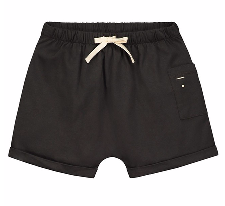 Gray Label SS19 One Pocket Shorts Nearly Black