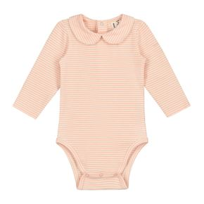 Gray Label SS19 Baby Collar Onesie Pop - Cream Stripes