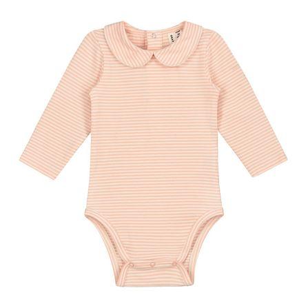 Gray Label SS19 Baby Collar Onesie Pop - Cream Stripes