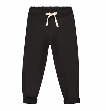 Gray Label SS19 Relaxed Jersey Pants Nearly Black