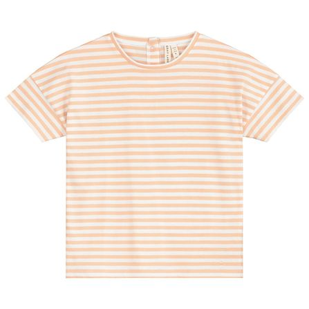 Gray Label SS19 Oversized Tee Pop-White Stripes