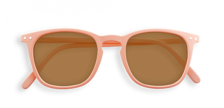 Izipizi Adults #E Sun Rose Granit with Soft Brown Lenses
