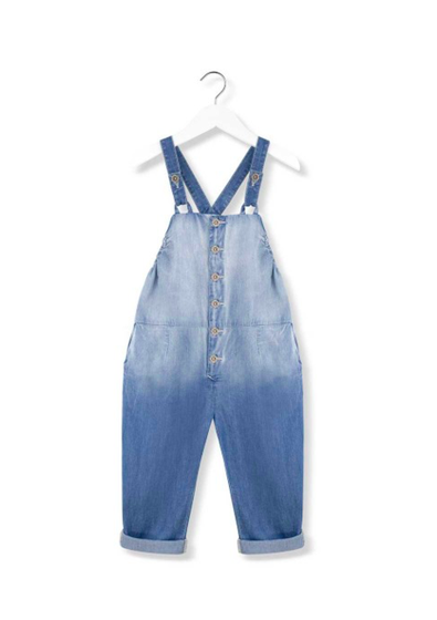 Kids on the Moon AW18 Pippi Denim Dungarees