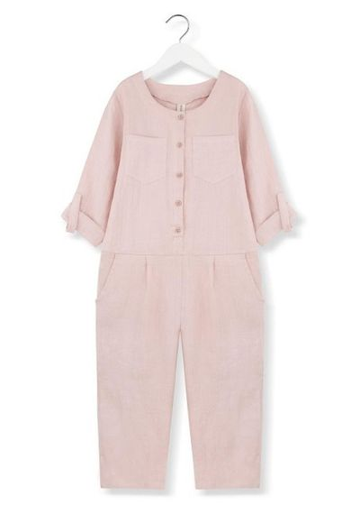 Kids on the Moon SS19 Playful Overall pink