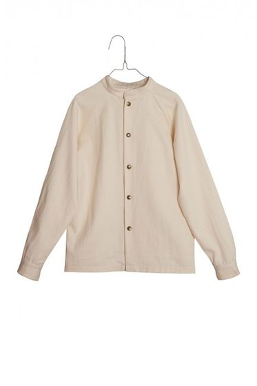 Little Creative Factory Nostalghia Nehru Cream Shirt